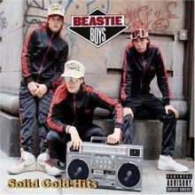 Beastie Boys Solid Gold Hits (album cover)