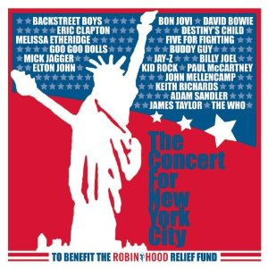 The Concert for New York City (album cover)