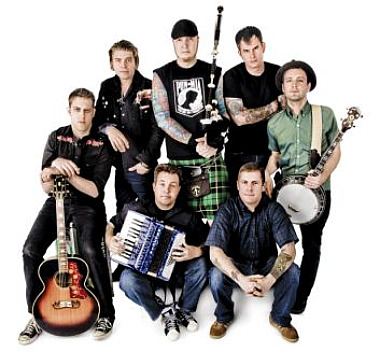 Dropkick Murphys (Photo credit: Kerry Brett)