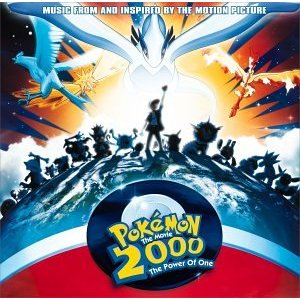 Pokemon 2000 soundtrack (album cover)