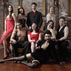 Nightcrawler: Bawdy by Nature, Berkshire burlesque group; Cantalini performs solo, duo, and with his trio
