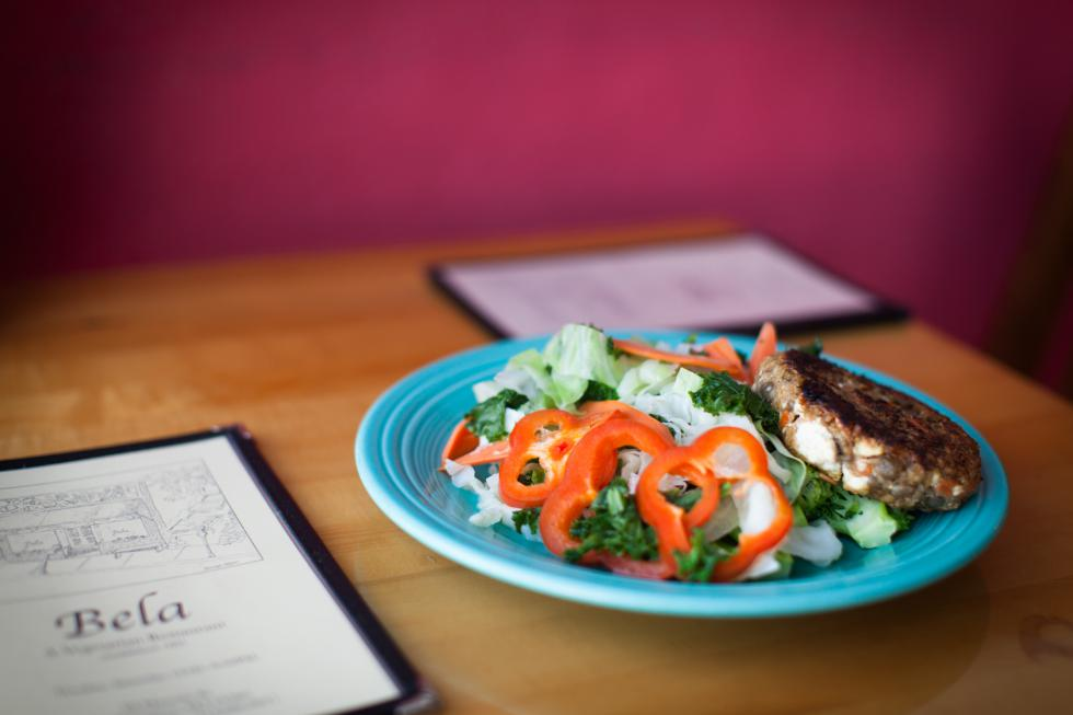 Cindy Rindone who has since passed away. The Dish consists of a cutlet patty with steamed vegetables. Rindone had bile duct cancer which placed restrictions on her diet. Subsequently this dish was tailored to her.Matt Burkhartt |