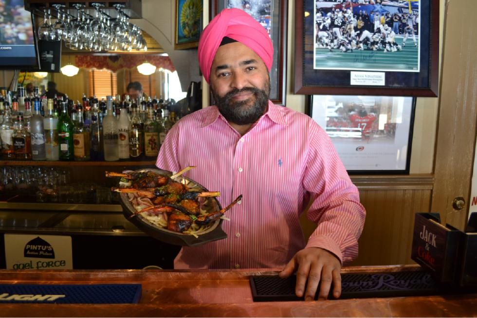 Pintu Chawla is the owner and chef at Pintu's Indian Palace in West Springfield. Hunter Styles photo.