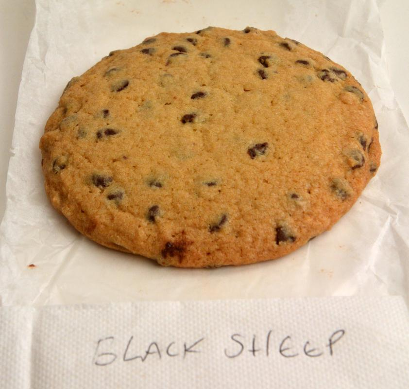 Chocolate chip cookie from Esselon Cafe in Hadley.JERREY ROBERTS   DAILY HAMPSHIRE GAZETTE