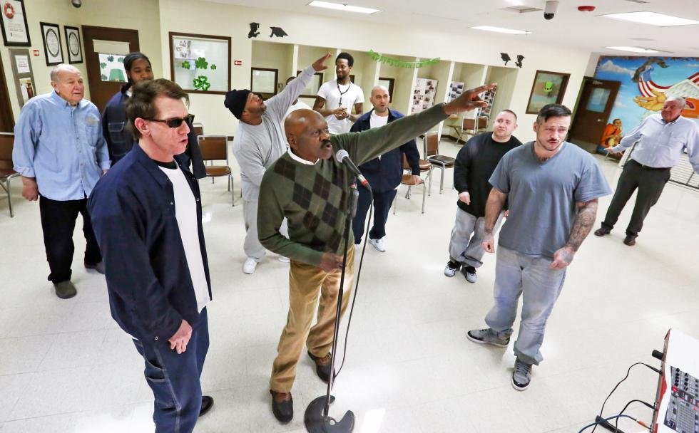 MICKY BEDELL Young at Heart, Hampshire County Jail and House of Correction on Wednesday, March 18. - MICKY BEDELL | DAILY HAMPSHIRE GAZETTE