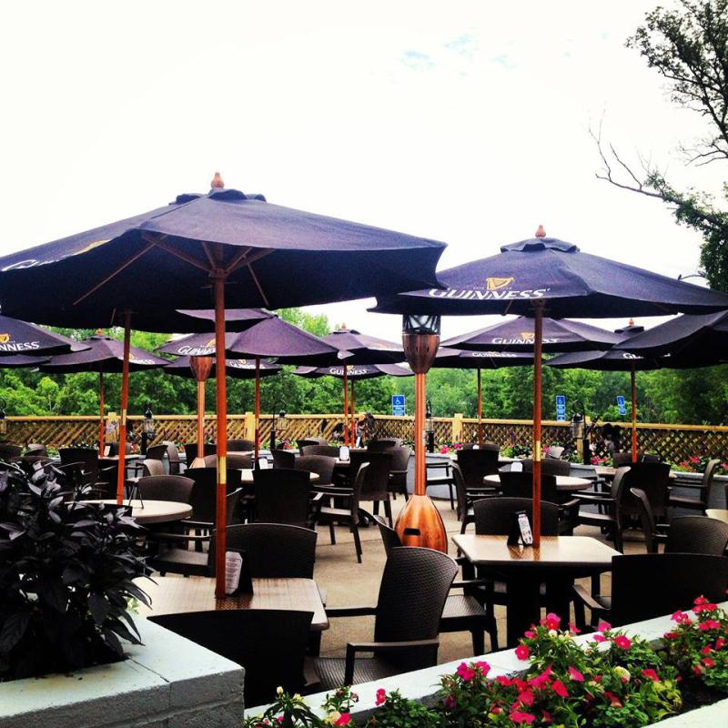 map al fresco outdoor dining in the pioneer valley