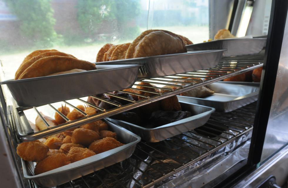 CAROL LOLLIS  Food sold in the food truck owned by Ramon De Jesus in Springfield. - Carol Lollis | Daily Hampshire Gazette