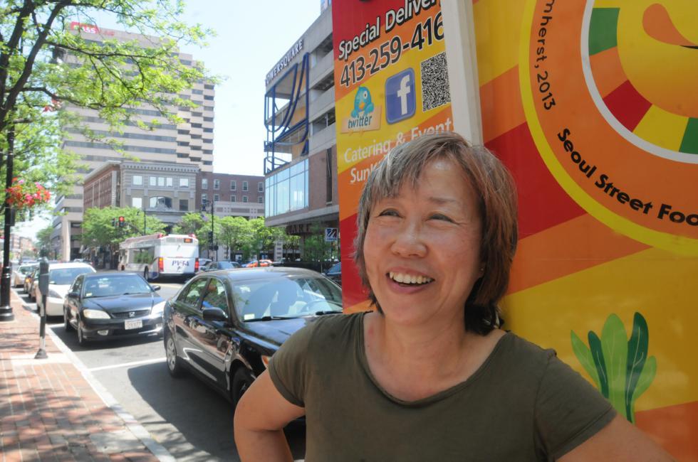 CAROL LOLLIS Sun Kim owner of Sun Kim Bop in Springfield. - Carol Lollis | Daily Hampshire Gazette