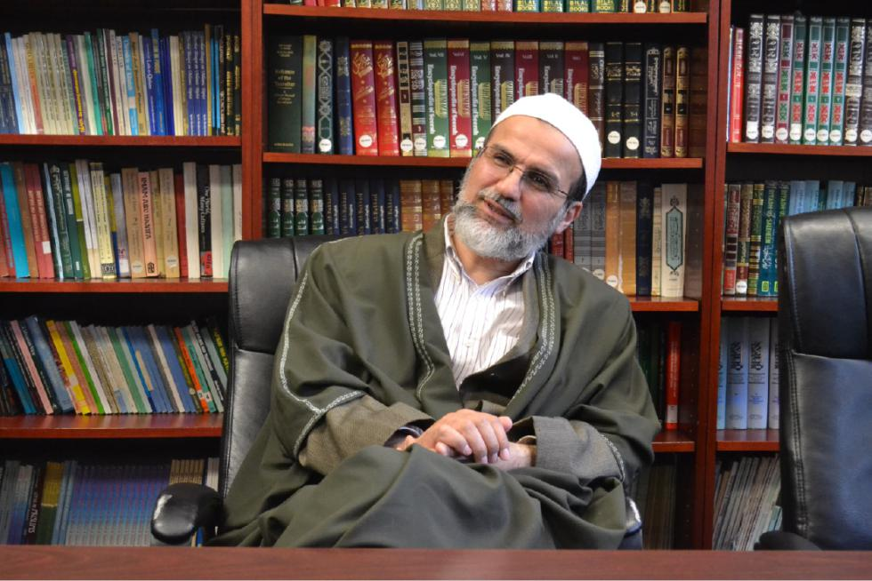 Work The Man In Mosque A Visit With Spiritual Leader Wissam Abdul Baki At Islamic Society Of Western Massacchusetts