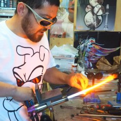 Bong King to the Stars: Chris Hubbard's success with blown glass pot pipes and bongs is out of this world