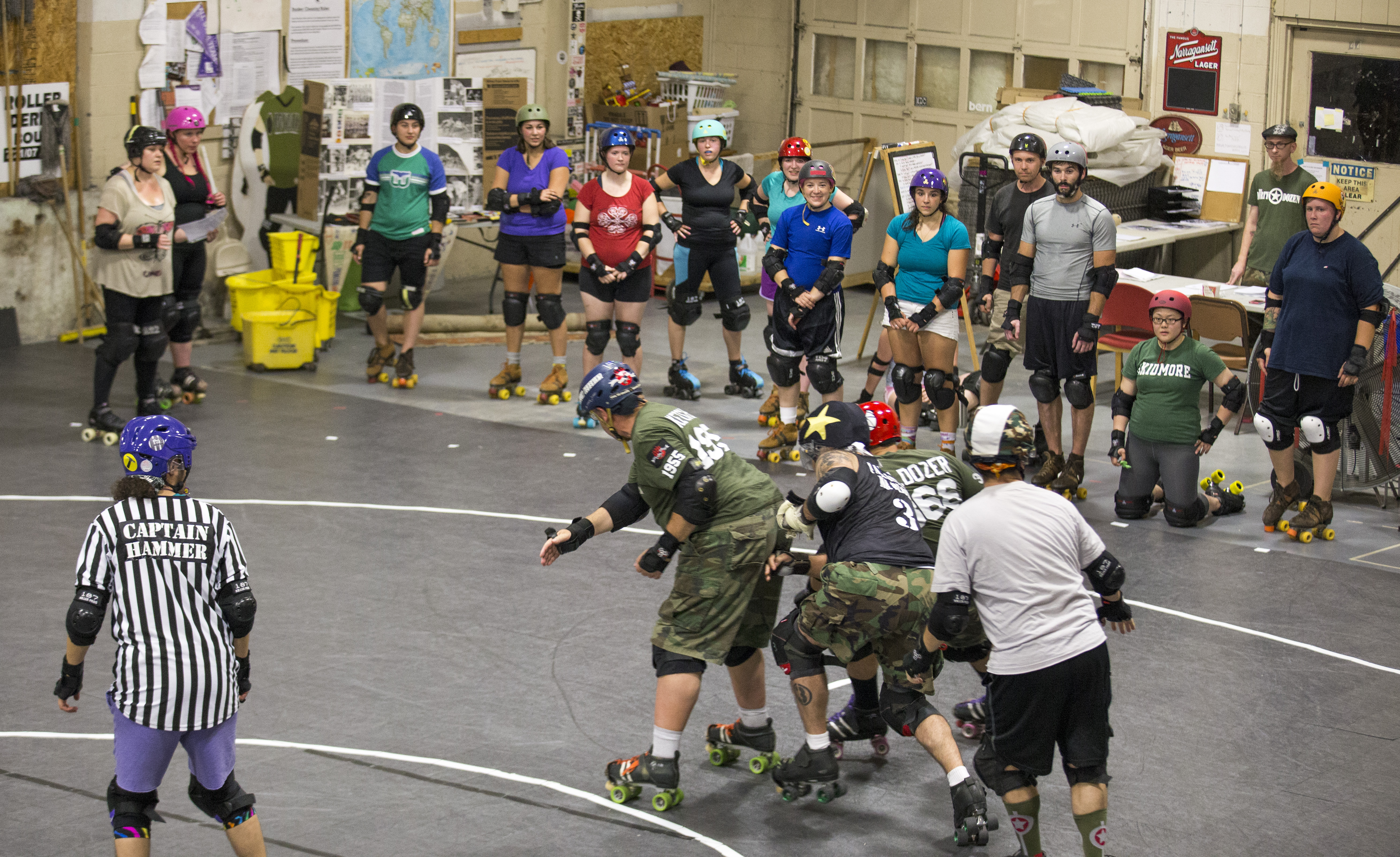 Pioneer Valley Roller Derby Open To More Than Just Fierce Females 1991 Mazda Navajo Fuse Box Diagram Advocate Micky Bedell