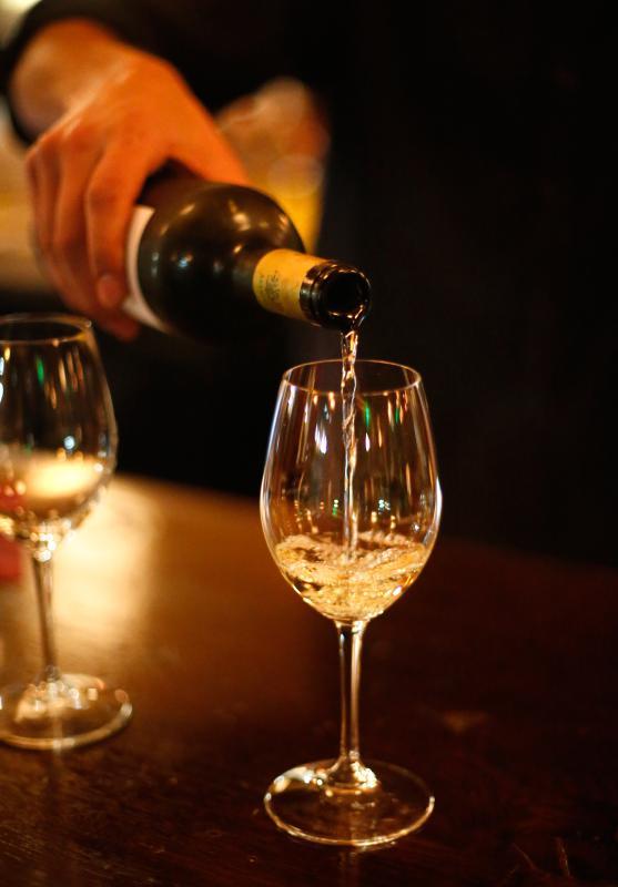 DAN LITTLE ConVino wine bar Thursday in Northampton. - DAN LITTLE | DAN LITTLE