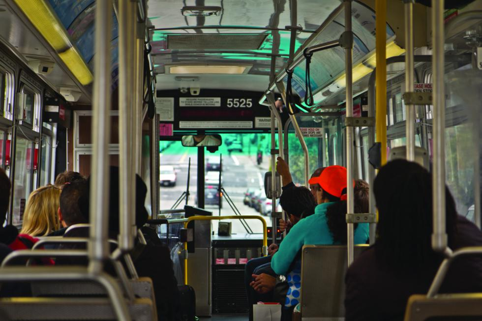 poetry should ride the bus Port authority of allegheny county  newer articulated buses feature burma-shave-style poetry such as parking got you down / don't  ride the bus at a.
