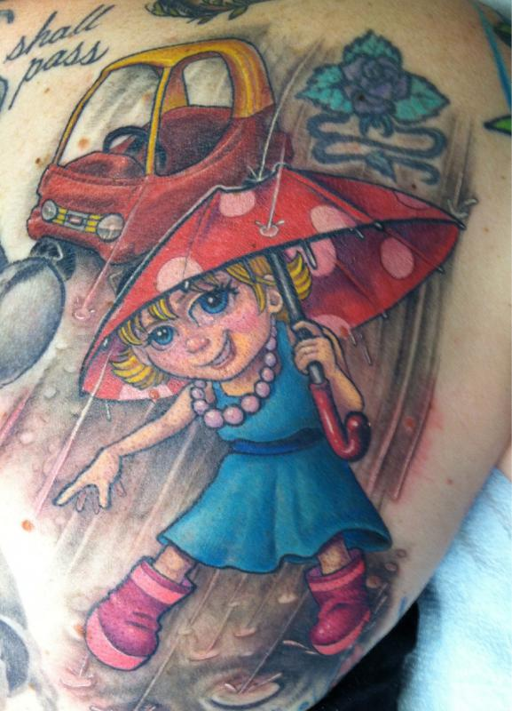 Show Us Your Tattoos Patti Fradette of Chicopee and Ted Perch of Easthampton