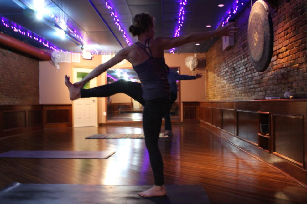 Grab Some Health: lunchtime yoga at Fire and Water