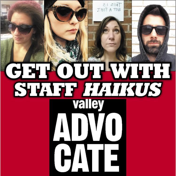 Staff Haikus: Smack My Bishop, Yuletide Market and more