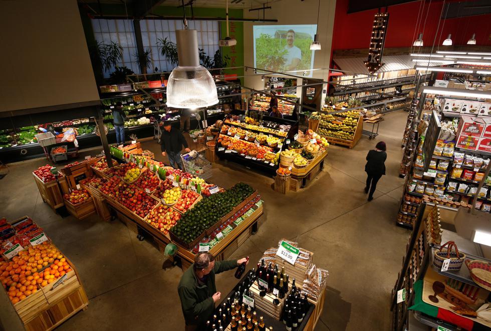 DAN LITTLE River Valley Market Co-op in Northampton. - DAN LITTLE | DAN LITTLE