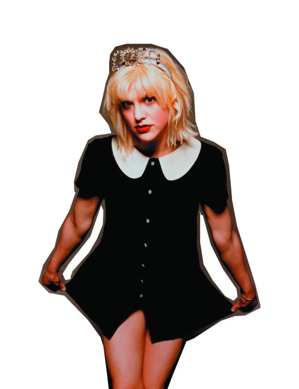 01 May 1994 --- Courtney Love --- Image by © Jeffrey Thurnher/CORBIS OUTLINE - Jeffrey Thurnher  