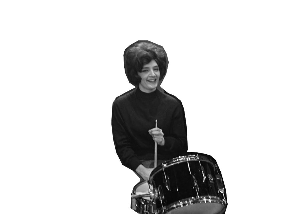 The Honey Combs (beatgroep) in Holland, tijdens repetiti in Grote Schouwburg Zuid te Rotterdam *10 december 1964 - Eric Koch / Anefo   Anefo