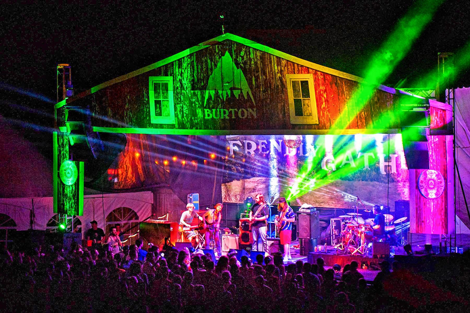 Frendly Gathering Festival in Southern Vermont