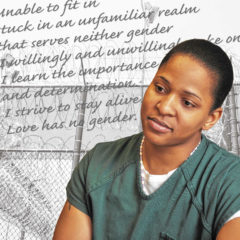 In Her Own Words: Incarcerated in a Greenfield men's correctional facility, she documents her transition