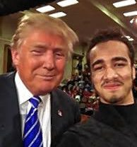 Touch his hair, get an autograph or a selfie? Florence man's Trump options