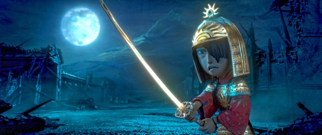 LAIKA / Focus Features—2016 LAIKA, Inc / Focus Features3200.0250.still.laika.0002 Kubo (voiced by Art Parkinson) faces off against the vengeful Moon King in animation studio LAIKA's epic action-adventure KUBO AND THE TWO STRINGS, a Focus Features release.  Credit: Laika Studios/Focus Features