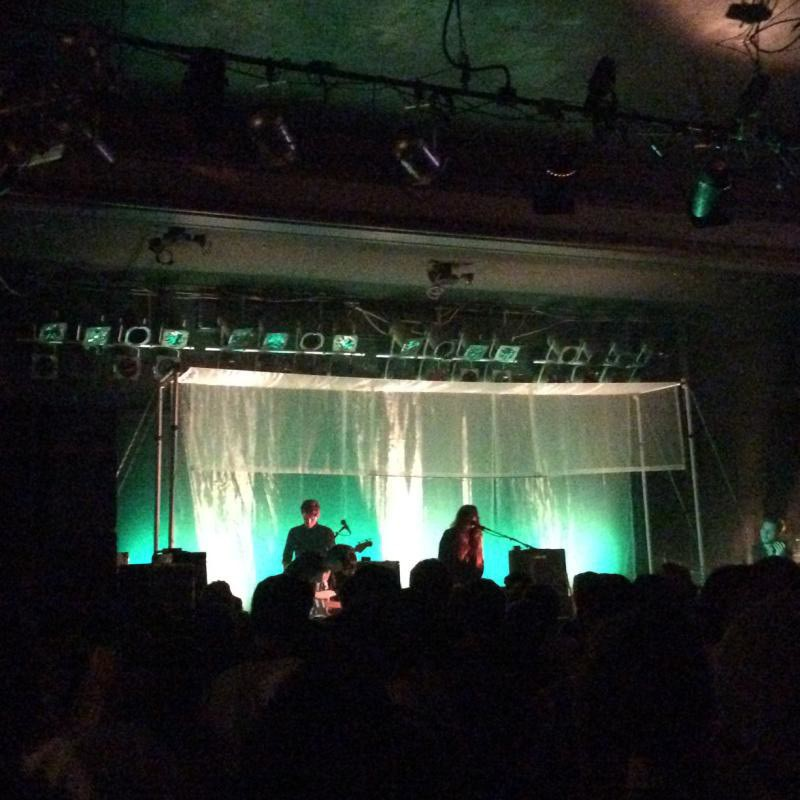 It was hot back then, too: To give folks a look inside the club, we've got this photo from Beach House playing Pearl Street in August of 2015.