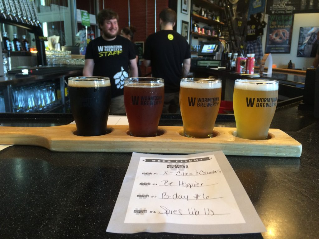 Wormtown's Be Hoppy IPA is well-liked everywhere, but this place ain't a one-trick pony. Hunter Styles Photo.