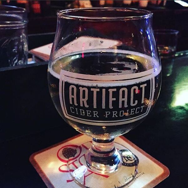 Photo courtesy of Artifact Cider Project