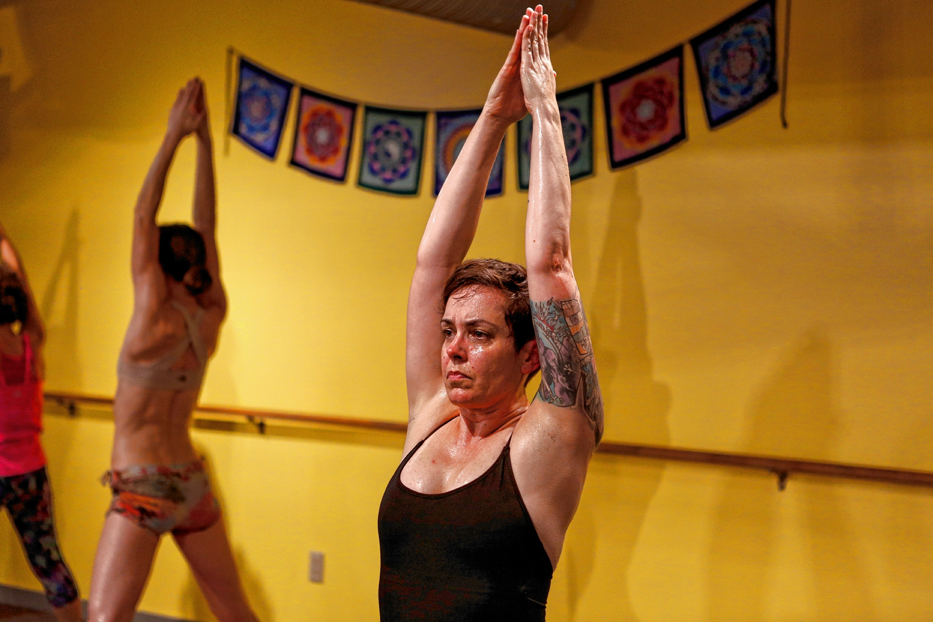 Third Eye Roaming: Only the Yoga Should be Hot