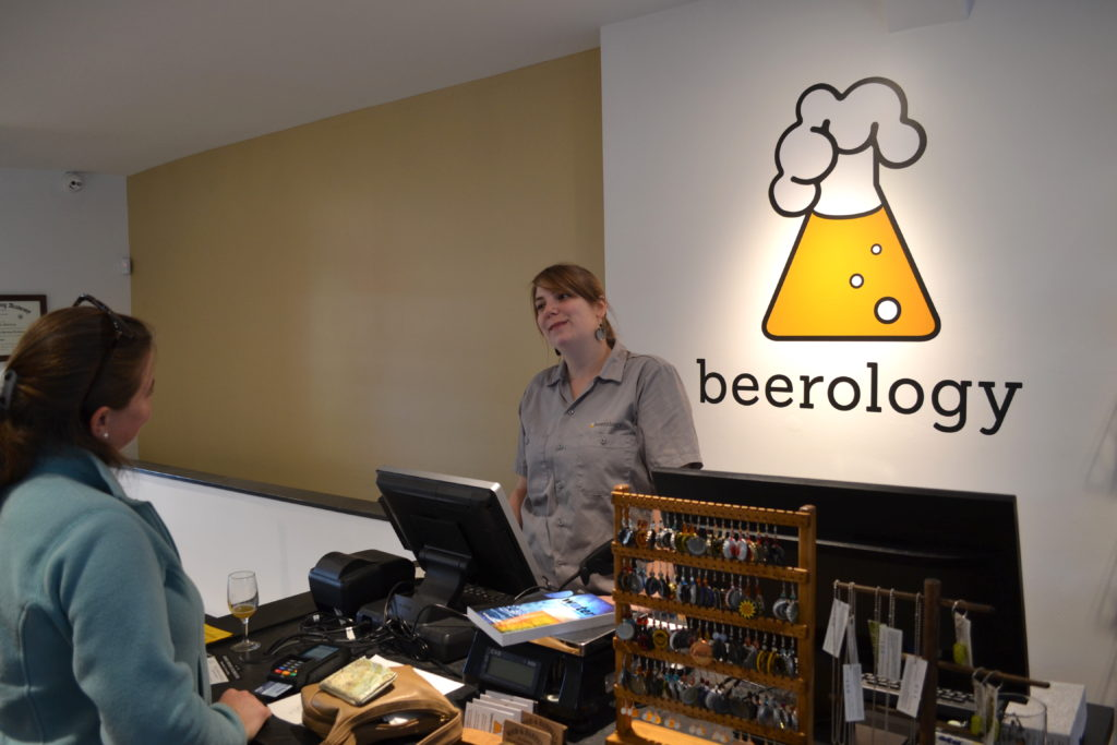 Beerology is now open on Pleasant Street in Northampton. Hunter Styles photo.