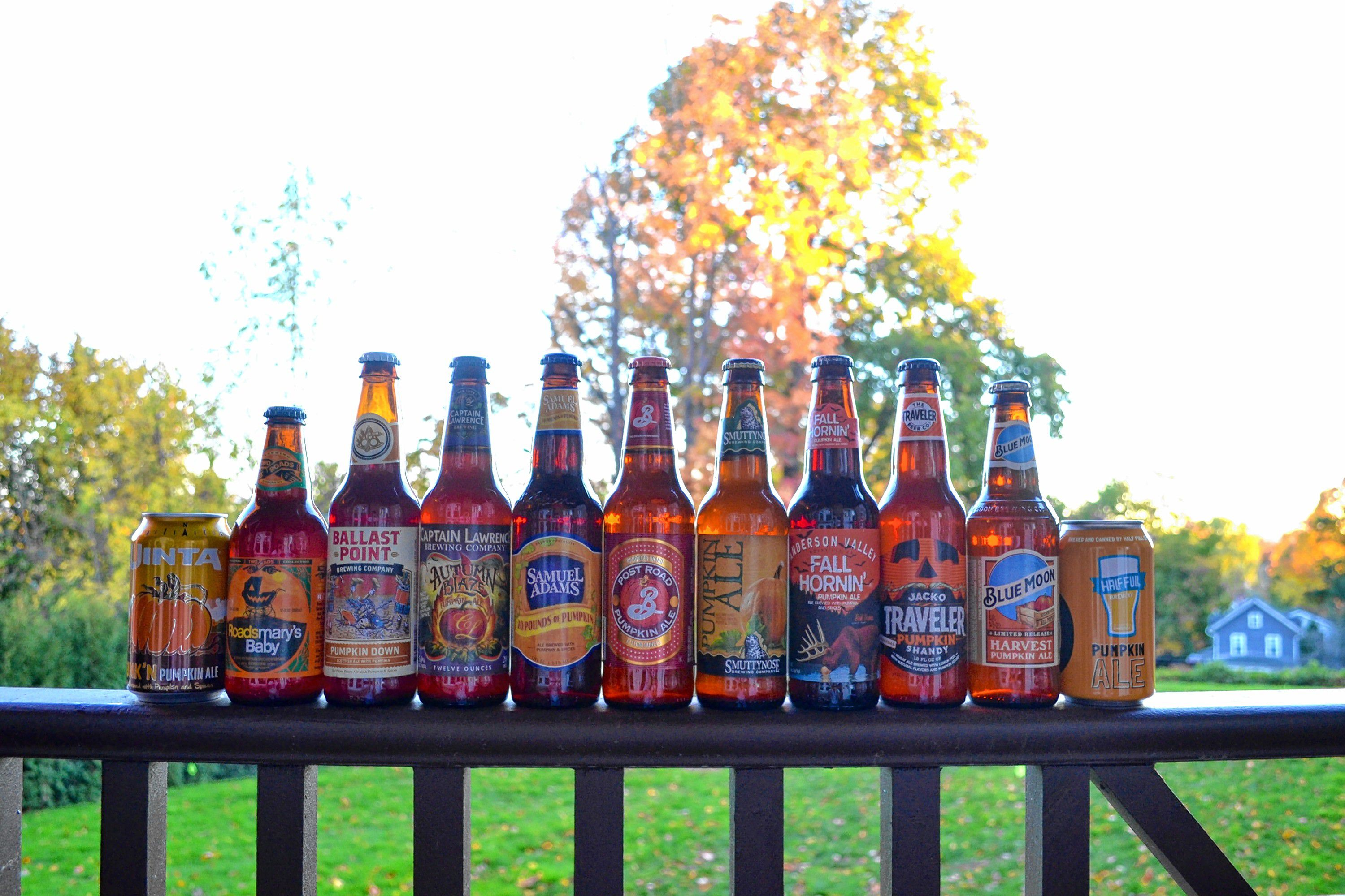 The Beerhunter: The Pumpkin Beer Taste Test (Round 2)