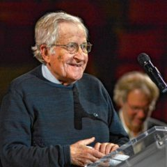 That time Noam Chomsky scared the bejesus out of me