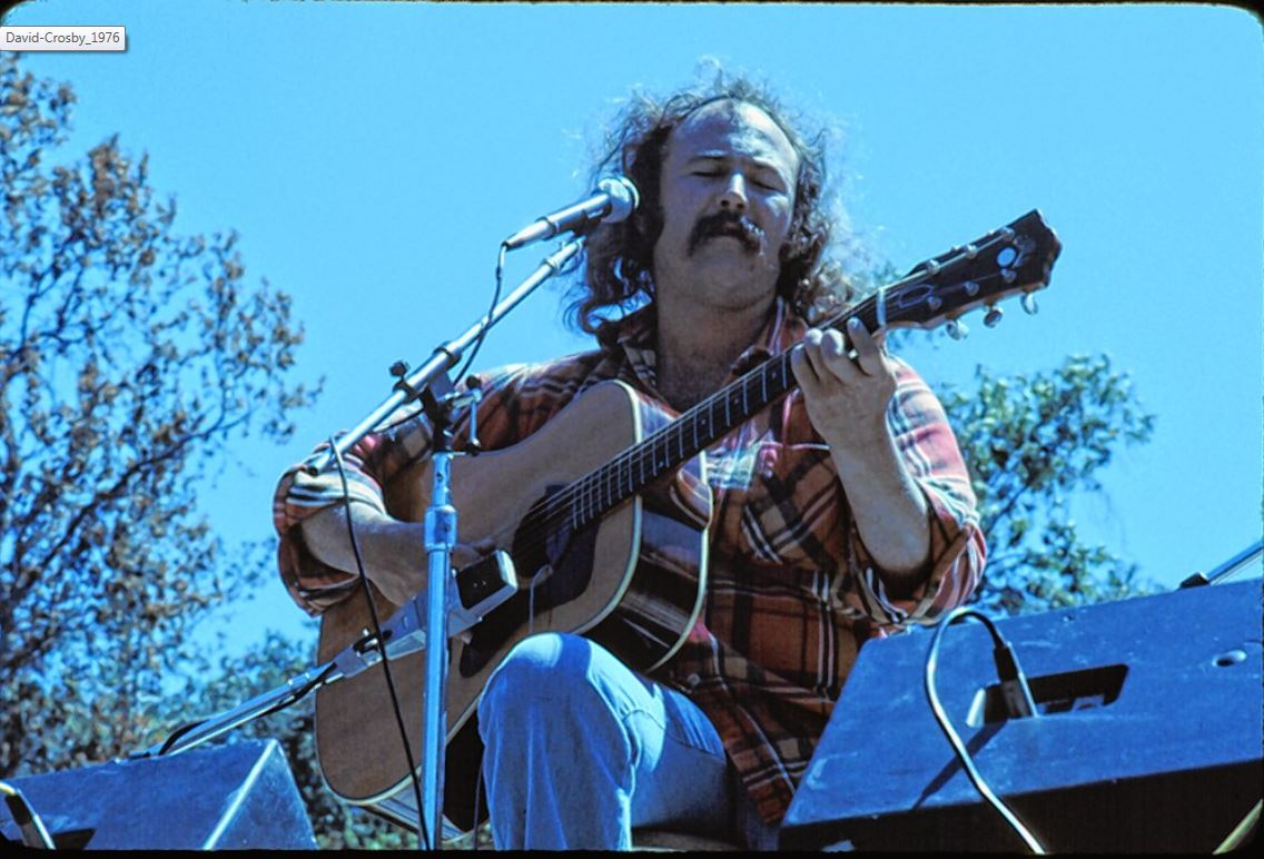 David Crosby of Crosby, Stills & Nash Talks Songwriting, Politics, and Fame