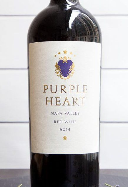 The Pour Man: Purple Heart Won My Heart