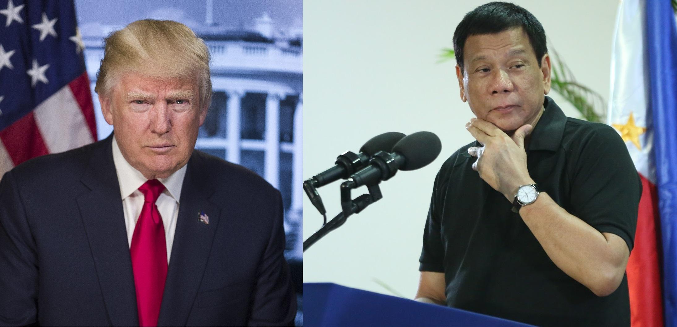 Donald Trump and Rodrigo Duterte. Wikimedia Commons