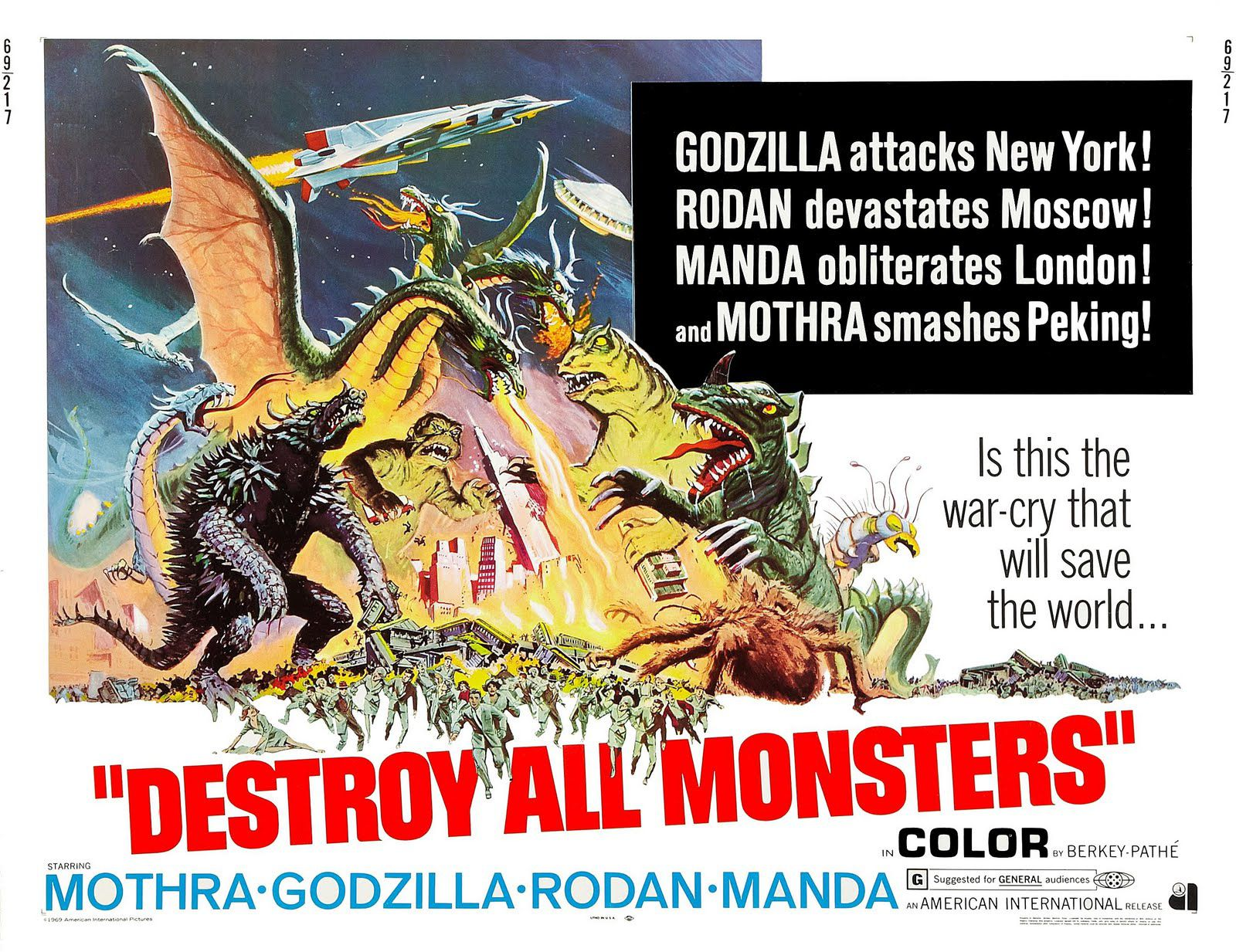 Blaise's Bad Movie Guide: 'Destory All Monsters'