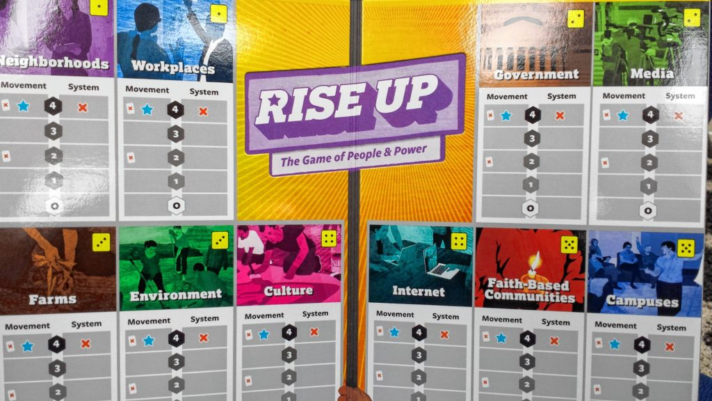 Rise Up board game