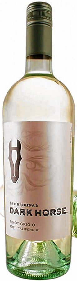 The Original Dark Horse  Pinot Grigio wine by Gallo