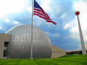 The Naismith Memorial Basketball Hall of Fame in Springfield. Wikimedia Commons image
