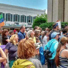 Northampton Activists Demand ICE Release Longtime Florence Resident