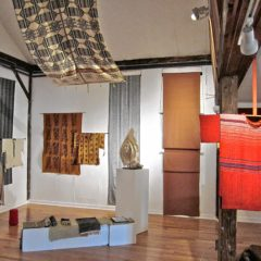 Go See: Natural Fibers and Uncommon Weaves wtih Leonore Alaniz at Leverett Crafts and Arts