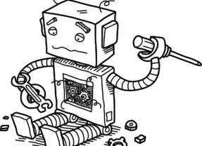 Bizarro Briefs: Robocop Becomes Self Terminator