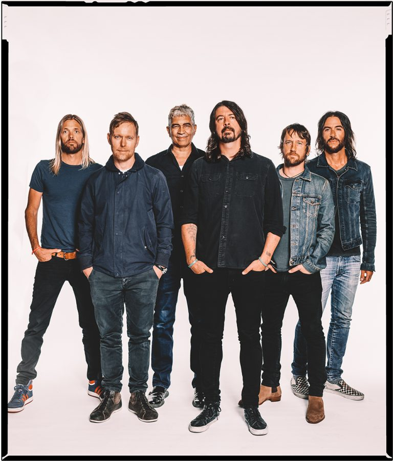 Foo Fighters 2017 (credit Brantley Gutierrez)