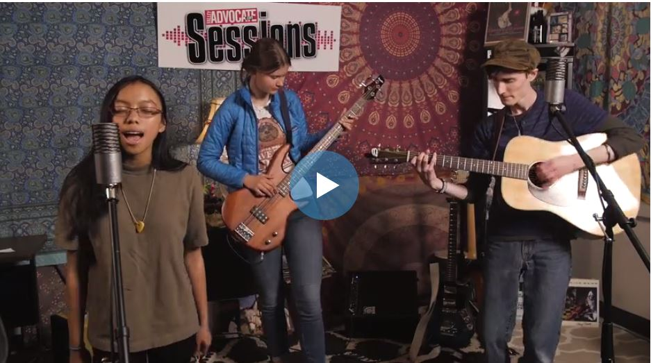Parlicium on the Valley Advocate Sessions Stage