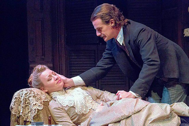 Kim Stauffer and Mark H. Dold in Gaslight