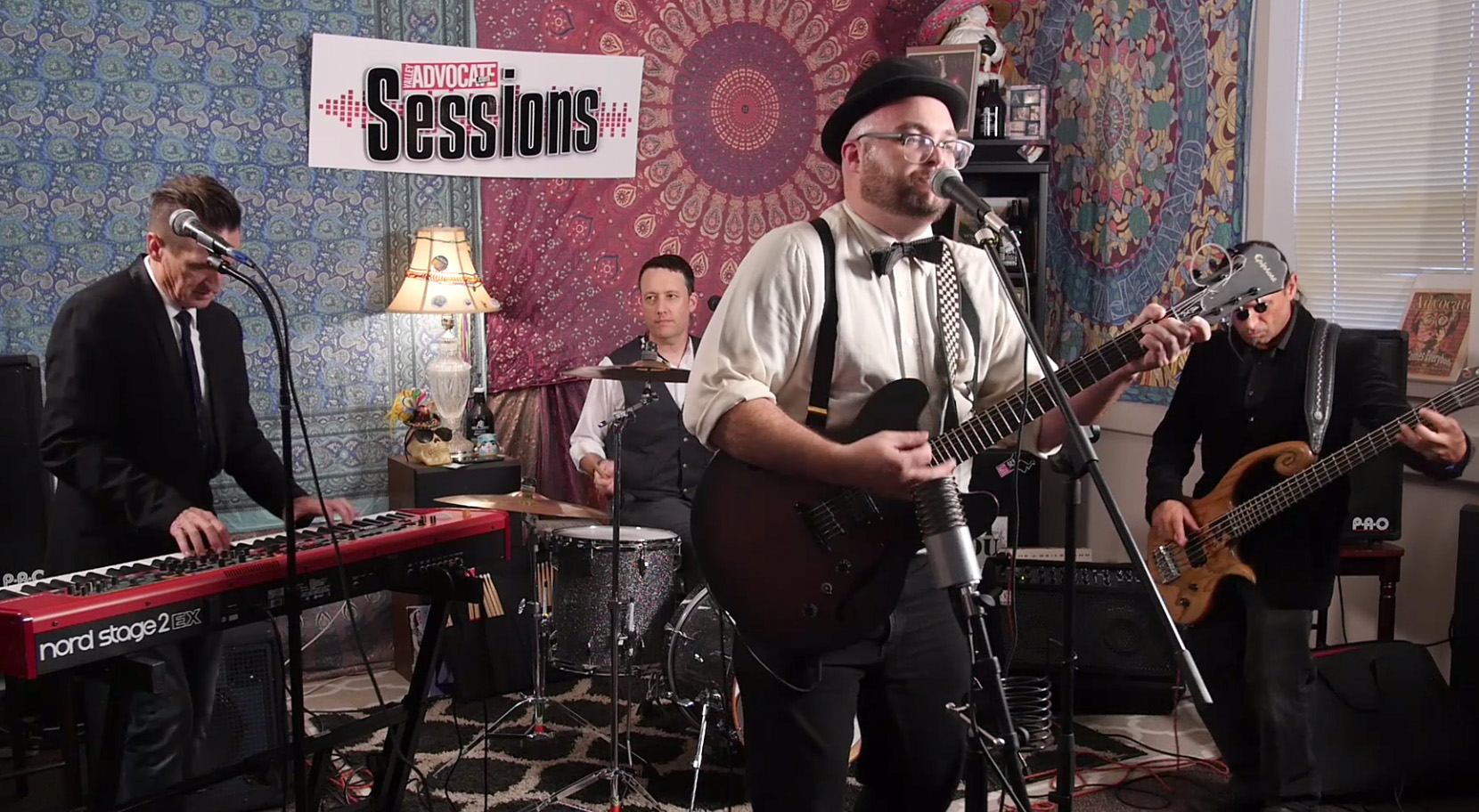 Reverend Dan and the Dirty Catechism on Advocate Sessions Stage