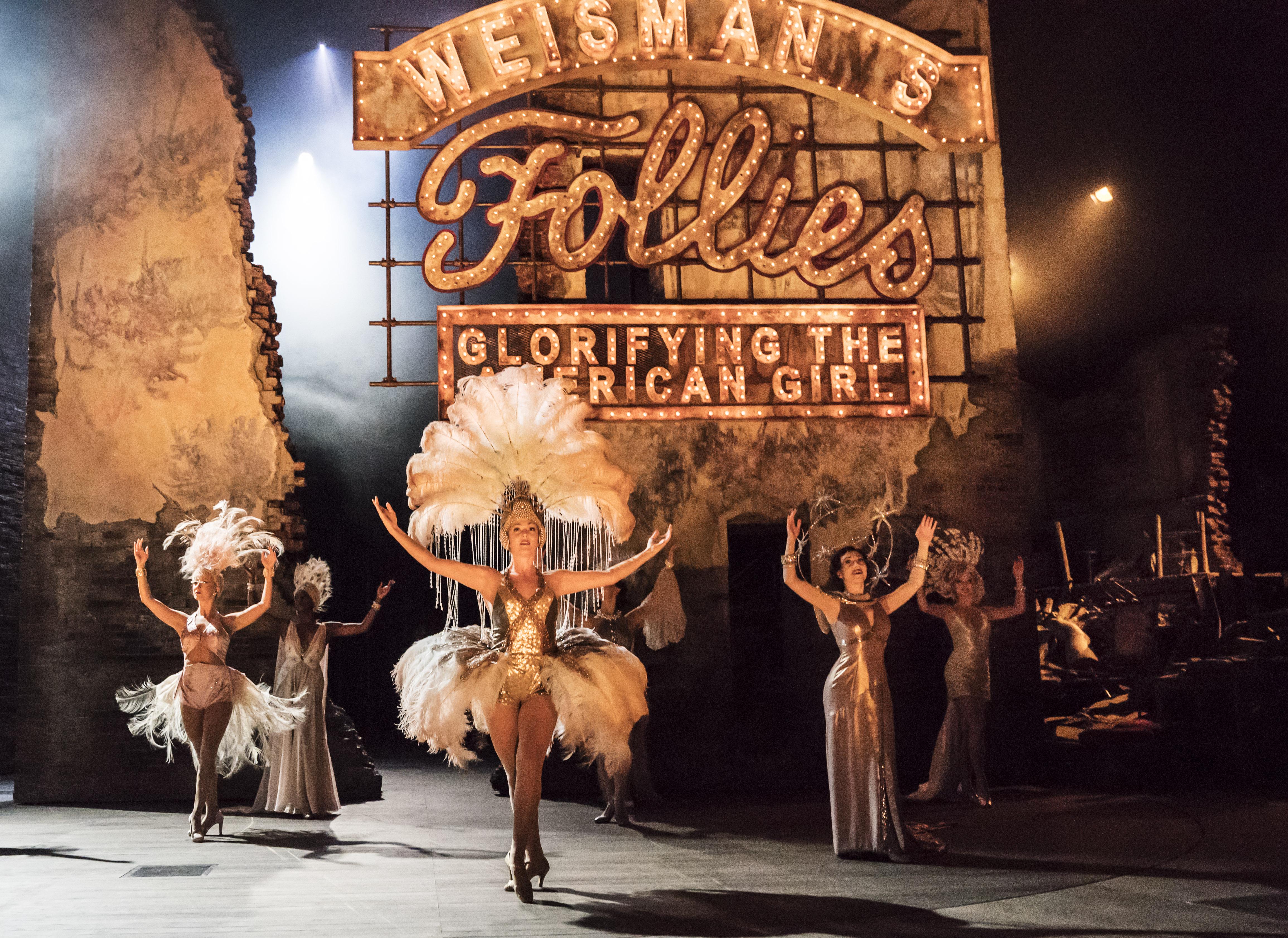 Stagestruck: Sondheim's Follies, onstage, on screen