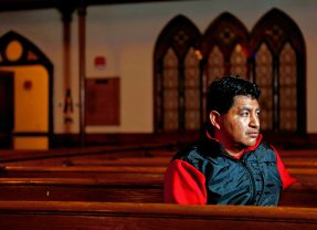 Immigrant taking sanctuary in Amherst church gets treated for 'life-threatening' condition at Cooley Dickinson in Northampton
